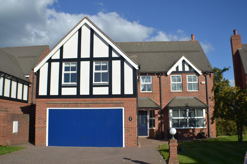 5 Bedrooms Detached House for sale in Smallwood Forge, Newcastle Road, Smallwood, Sandbach