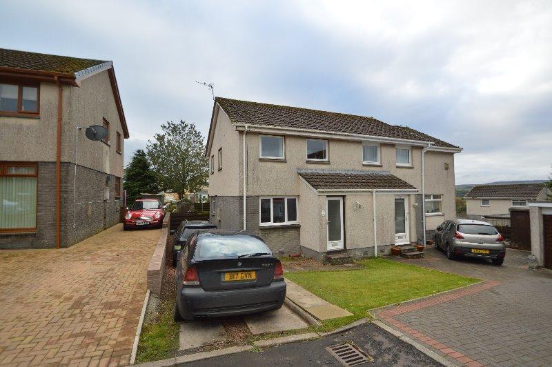 3 Bedrooms Semi Detached House for sale in Roseburn Drive, Cumnock, East Ayrshire, KA18 1DH