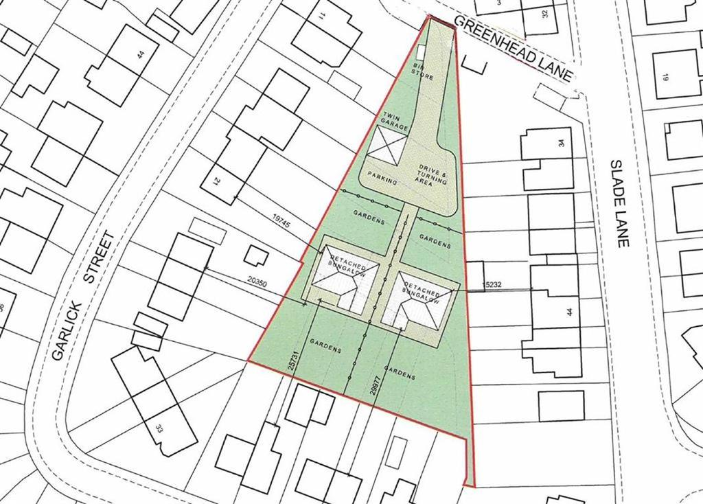 Land Commercial for sale in Greenhead Lane/Garlick Street, Rastrick, Brighouse, HD6