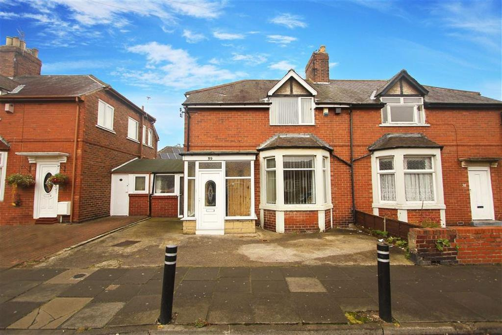 3 Bedrooms Semi Detached House for sale in Burdon Street, North Shields