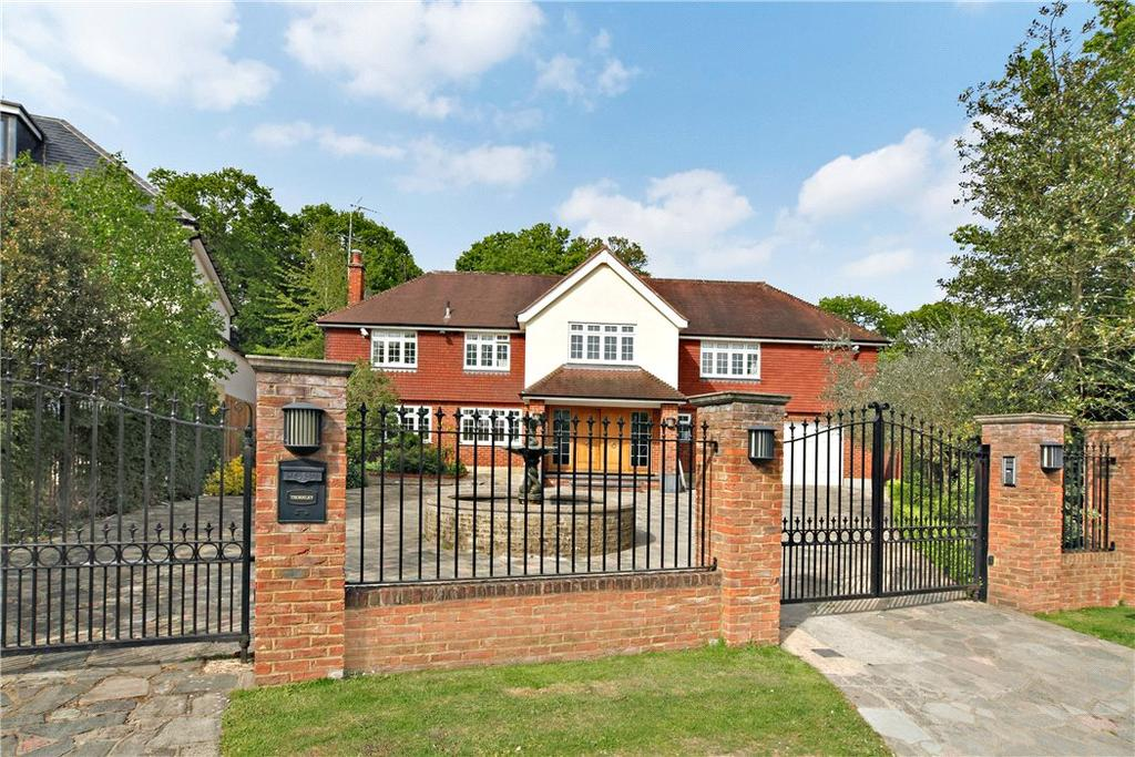 6 Bedrooms Detached House for sale in Coombe Park, Kingston Upon Thames, Surrey, KT2