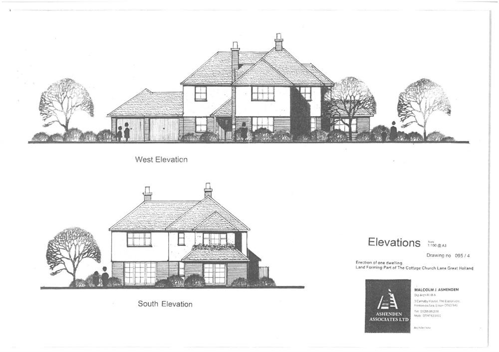 Land Commercial for sale in Church Lane, Great Holland, FRINTON-ON-SEA, Essex