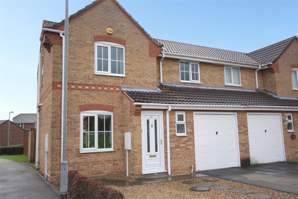 3 Bedrooms Semi Detached House for sale in Mulberry Close, Southfields, NG34
