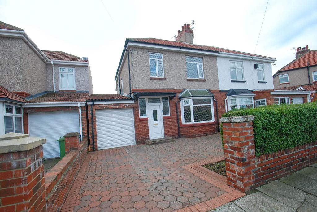 3 Bedrooms Semi Detached House for sale in Grasmere Gardens, South Shields