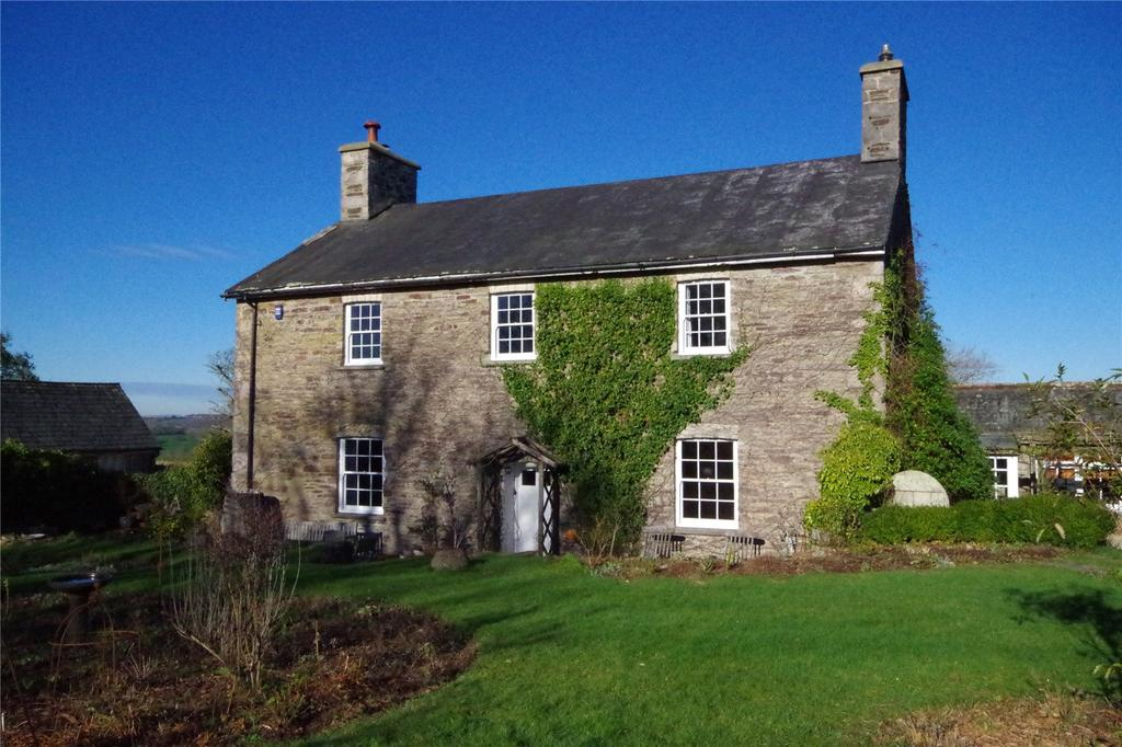 5 Bedrooms Detached House for sale in Wrescombe Farmhouse, Yealmpton, Devon, PL8