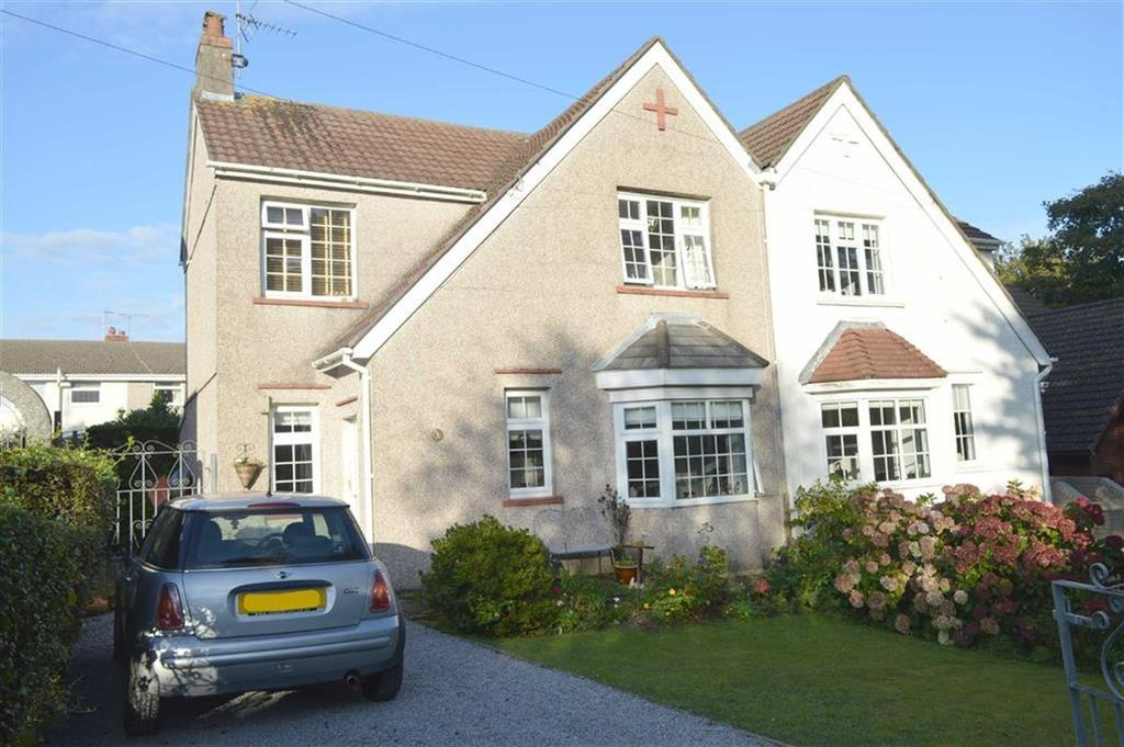 3 Bedrooms Semi Detached House for sale in St Peters Road, Caswell, Swansea