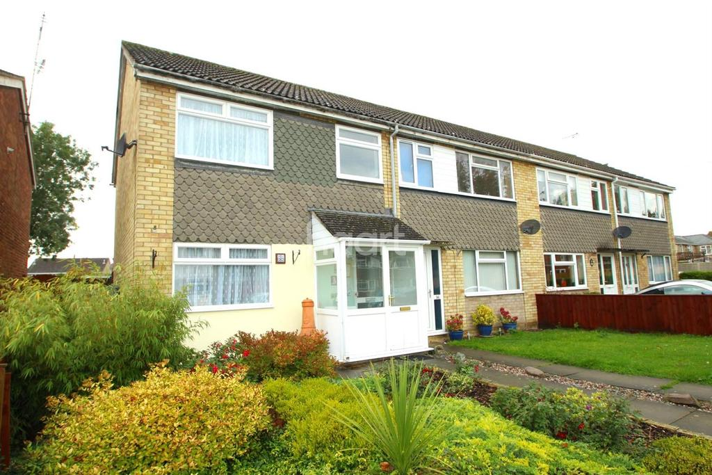 3 Bedrooms End Of Terrace House for sale in Guntons Close, Soham