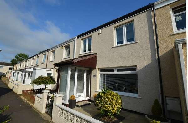 3 Bedrooms Terraced House for sale in 23 Cloncaird, Kilwinning, KA13 6LT