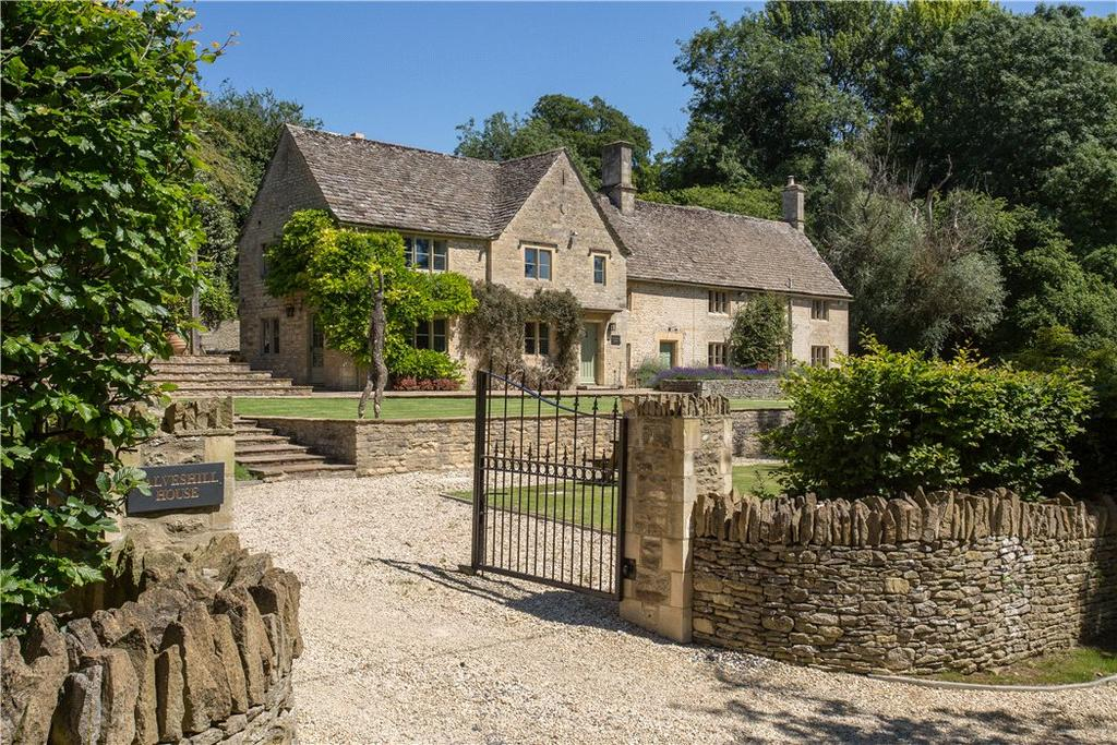 6 Bedrooms Detached House for sale in Calves Hill, Chedworth, Cheltenham, Gloucestershire, GL54
