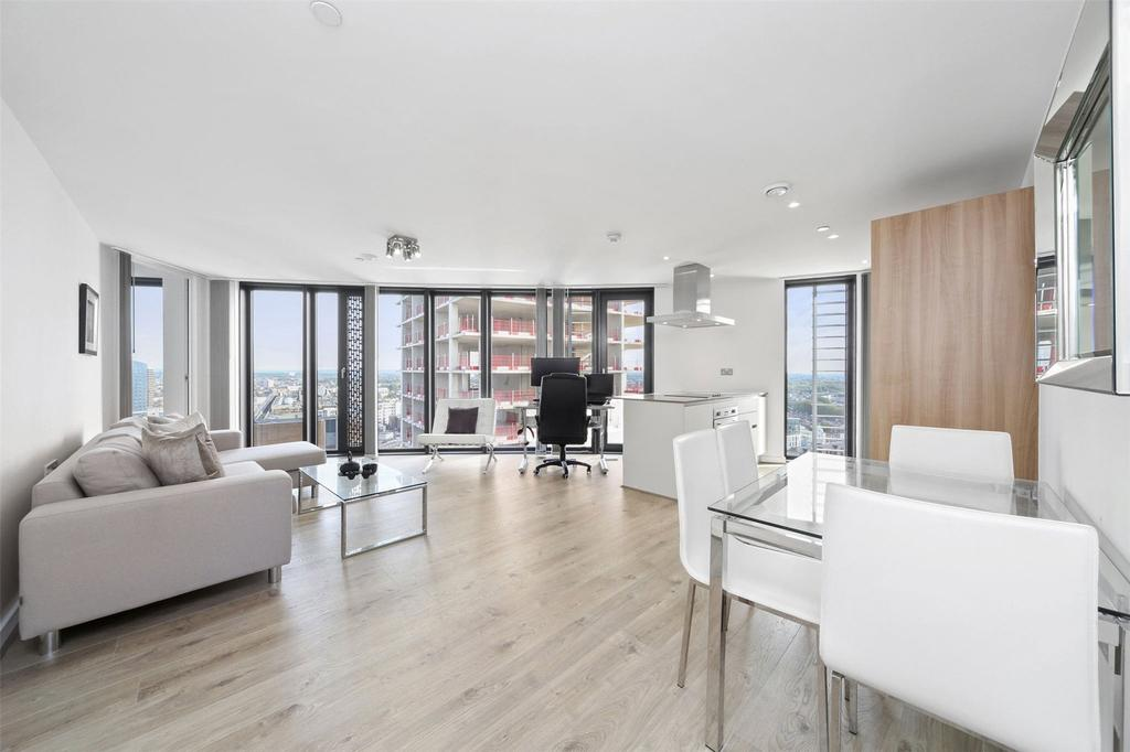 2 Bedrooms Flat for sale in Unex Tower, London