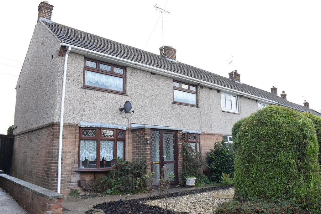 3 Bedrooms End Of Terrace House for sale in Burlington Drive, Mansfield