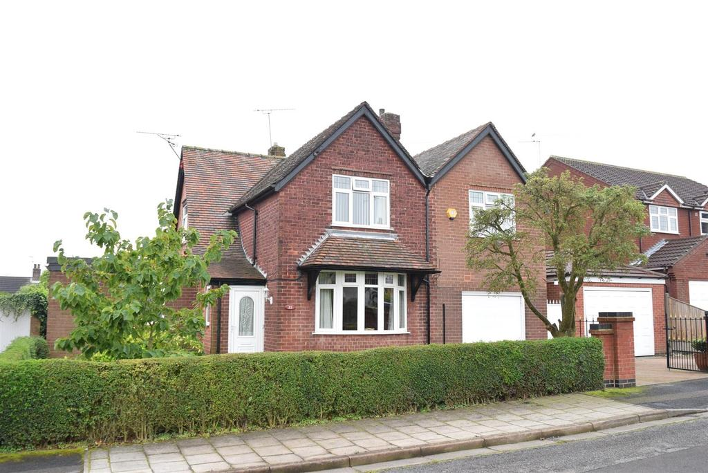 4 Bedrooms Detached House for sale in Woodland Road, Forest Town