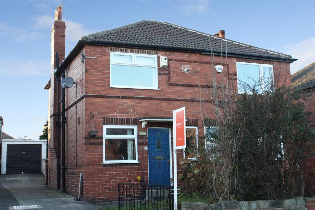 2 Bedrooms Semi Detached House for sale in Lincroft Crescent, Bramley