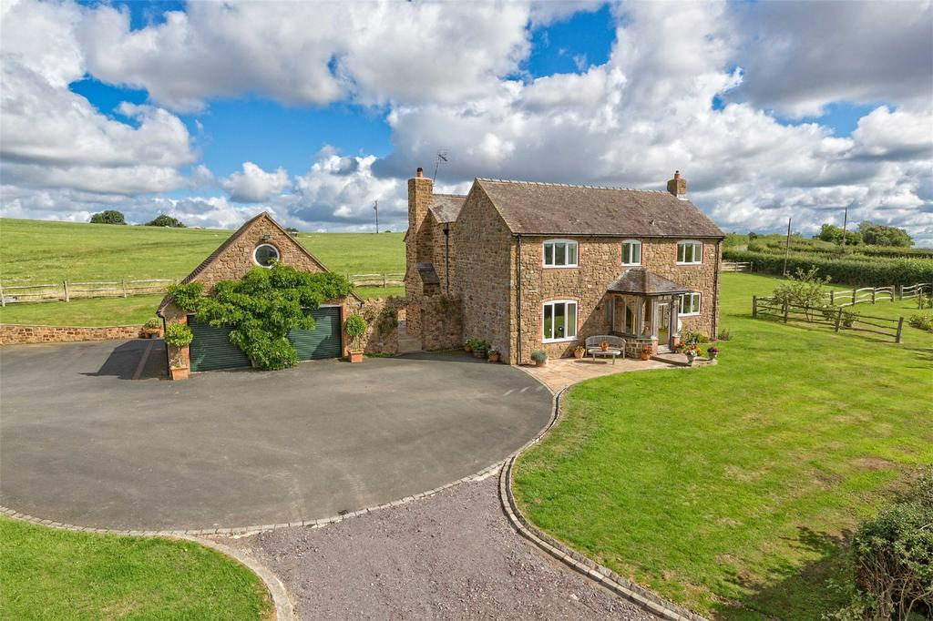 4 Bedrooms Detached House for sale in RIDGE HOUSE, KENLEY, NR MUCH WENLOCK, SHREWBURY