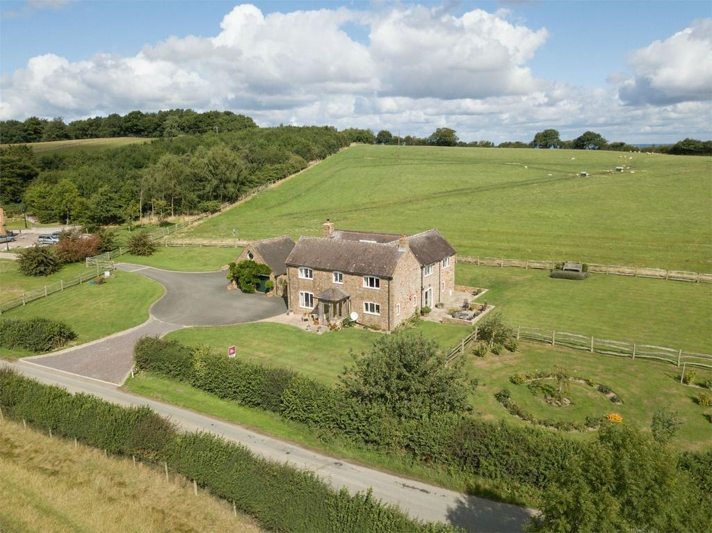 4 Bedrooms Detached House for sale in RIDGE HOUSE, KENLEY, NR MUCH WENLOCK, SHREWSBURY