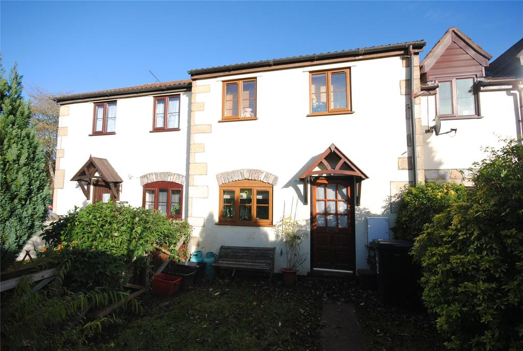 2 Bedrooms Terraced House for sale in Old Station Close, Cheddar, Somerset, BS27