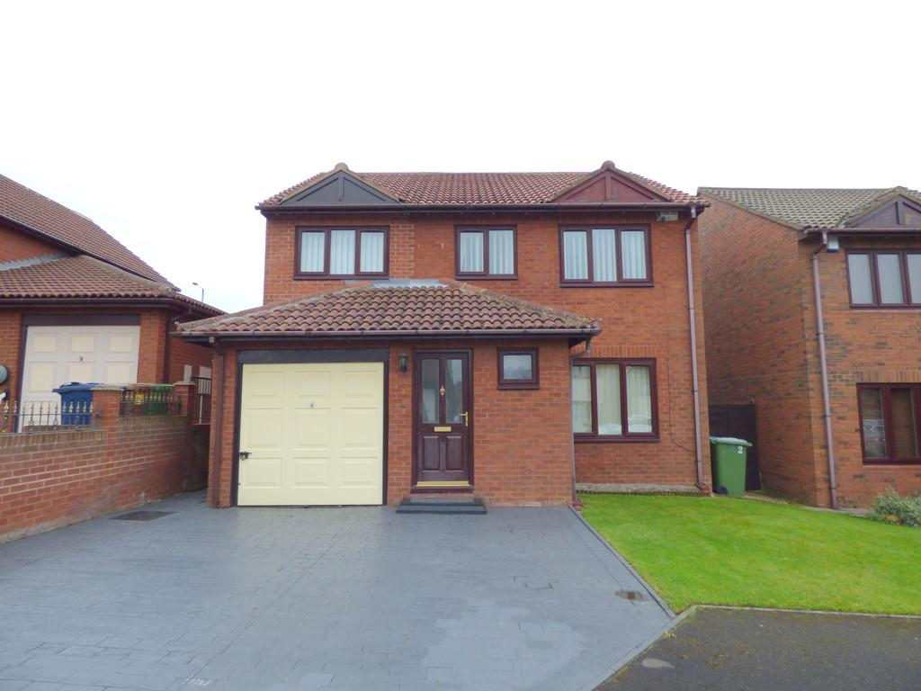 4 Bedrooms Detached House for sale in Lydford Court, Newbottle