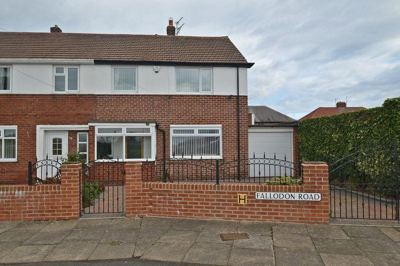 3 Bedrooms Terraced House for sale in Fallodon Road, North Shields
