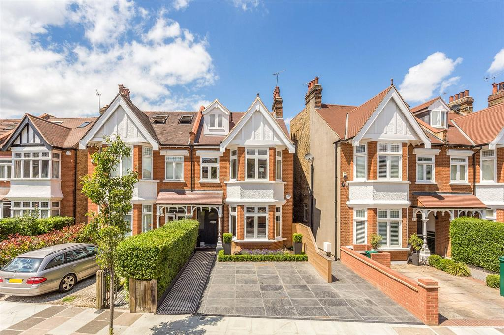 5 Bedrooms Semi Detached House for sale in Madrid Road, Barnes, London, SW13