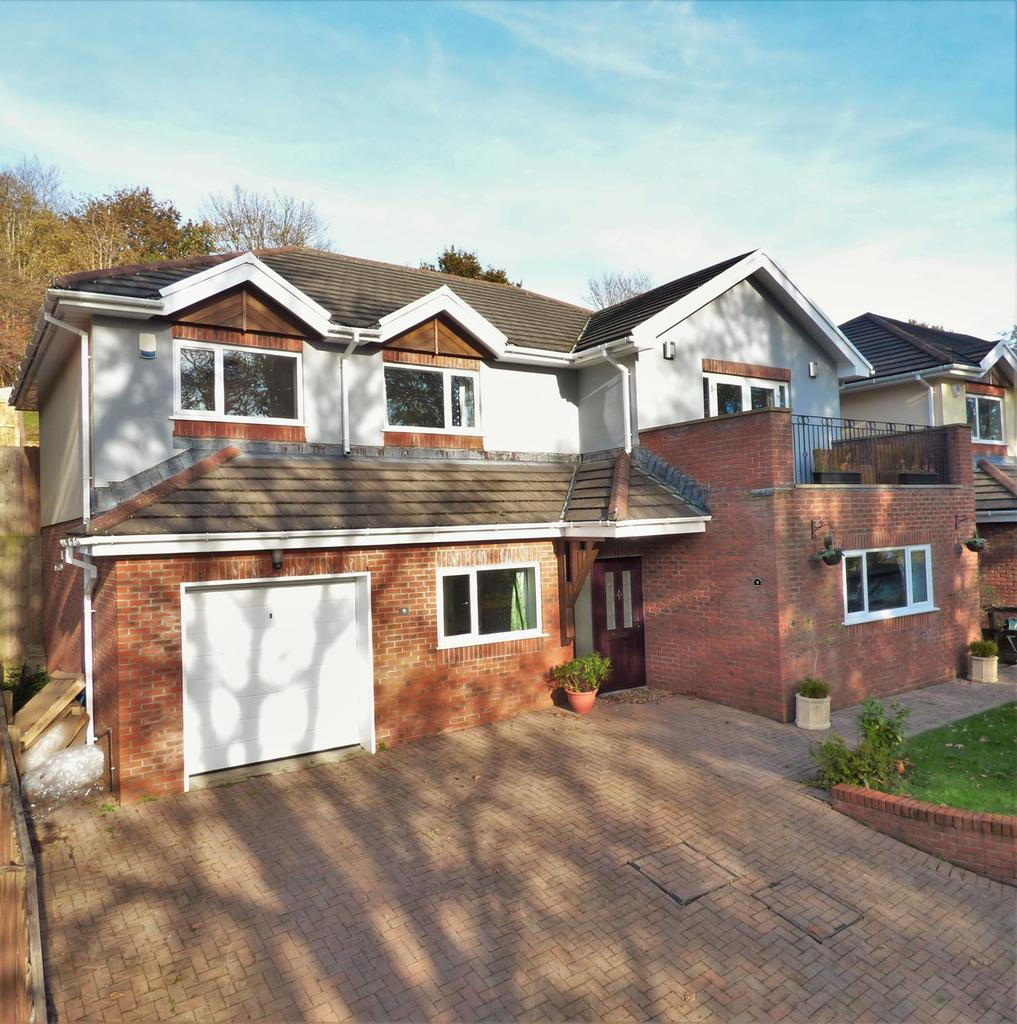 5 Bedrooms Detached House for sale in Dylans View, Uplands, Swansea, SA2