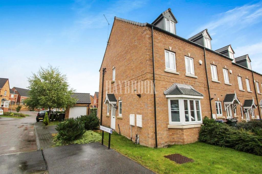 4 Bedrooms Semi Detached House for sale in Kingwood Close, West Green