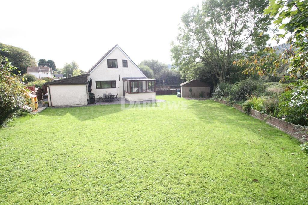 3 Bedrooms Detached House for sale in Lodge Road, Talywain