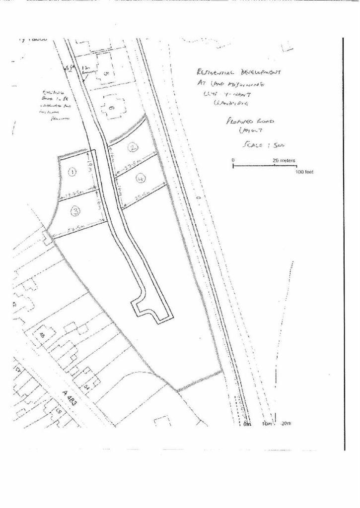 Plot Commercial for sale in Llys Y Nant