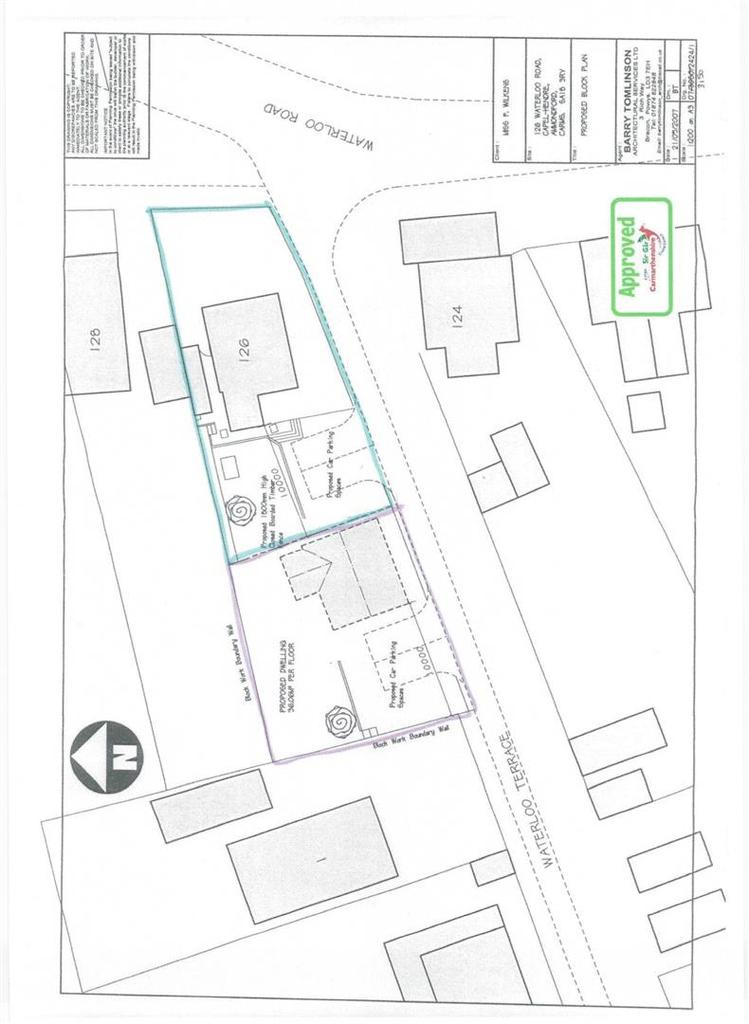 Plot Commercial for sale in Waterloo Road, Ammanford
