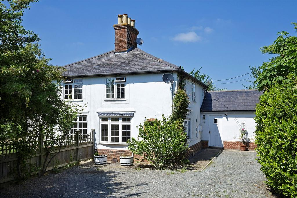 2 Bedrooms Semi Detached House for sale in New England Cottages, Cowlinge, Newmarket, Suffolk