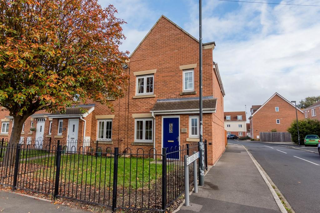 3 Bedrooms End Of Terrace House for sale in St James Croft, Dringhouses, York