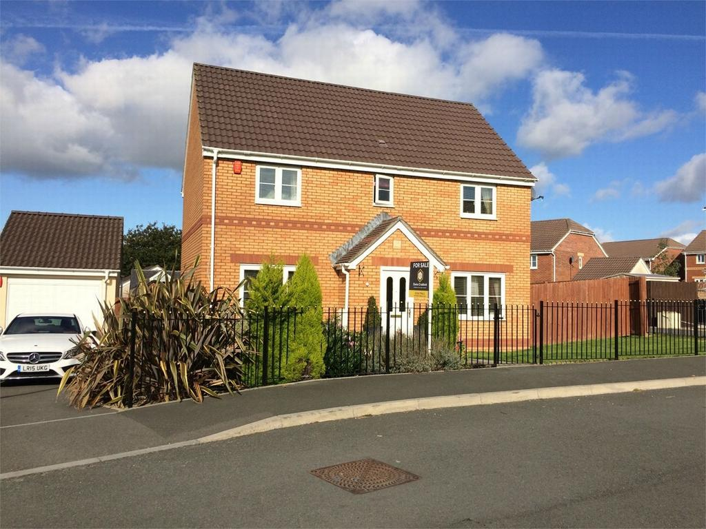 4 Bedrooms Detached House for sale in 157 Pant Bryn Isaf, Llwynhendy, Llanelli, Carmarthenshire
