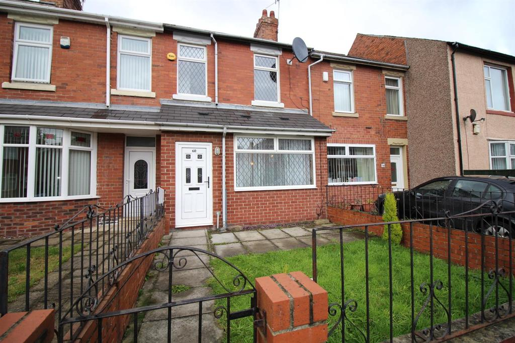 2 Bedrooms Terraced House for sale in Wellington Road, Gateshead