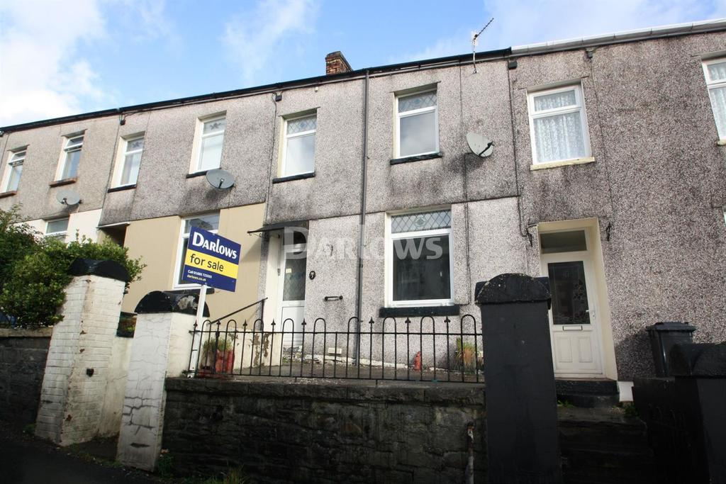 2 Bedrooms Terraced House for sale in Cardiff Road, Treharris