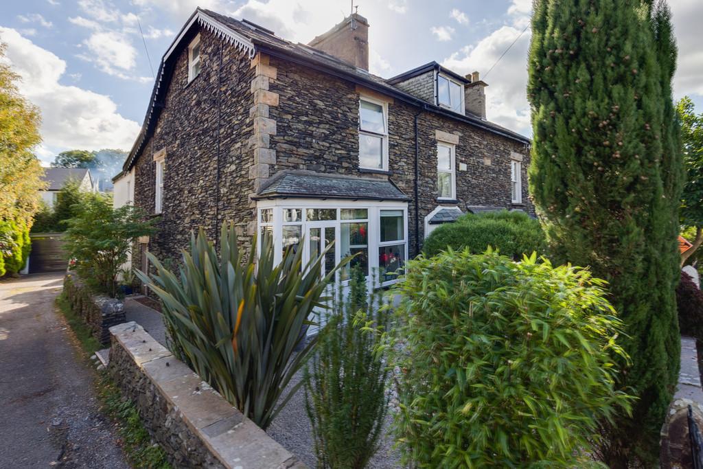 4 Bedrooms End Of Terrace House for sale in Haven Lea, Queens Drive, Windermere, Cumbria, LA23 2EL