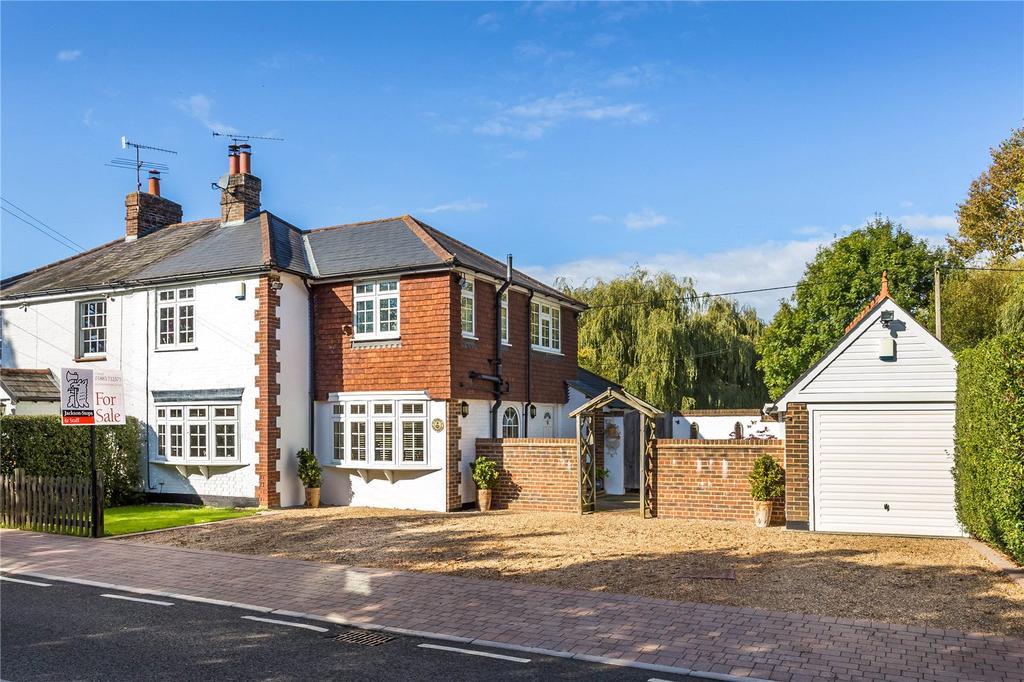 3 Bedrooms Semi Detached House for sale in Tandridge Lane, Tandridge, Oxted, Surrey, RH8