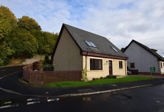 4 Bedrooms Detached House for sale in Amorlea Haughhead Road, Earlston, TD4 6EF