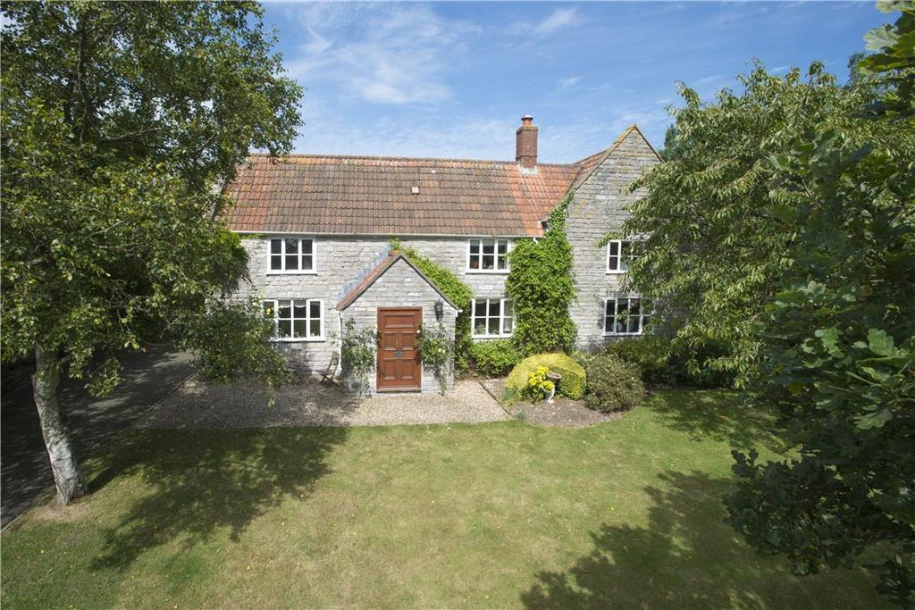5 Bedrooms Detached House for sale in Back Lane, Baltonsborough, Glastonbury, Somerset, BA6