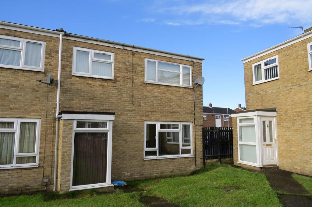 2 Bedrooms End Of Terrace House for sale in Holmdale, South Green Lane, Ashington