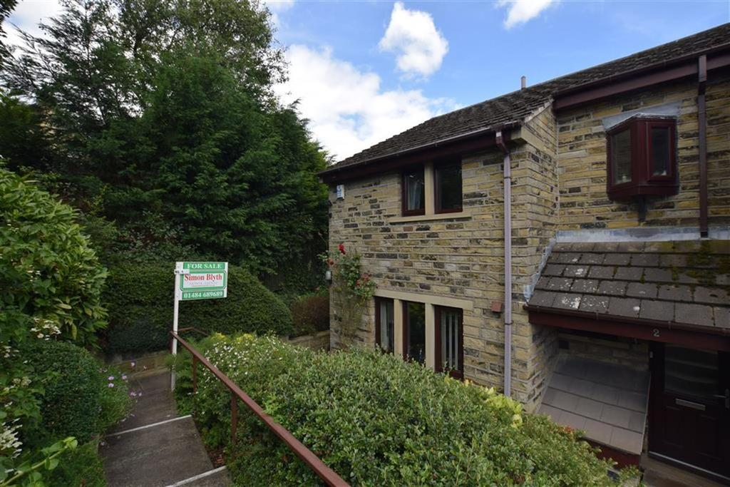 2 Bedrooms End Of Terrace House for sale in St Marys Mews, Off Church Street, Holmfirth, HD9
