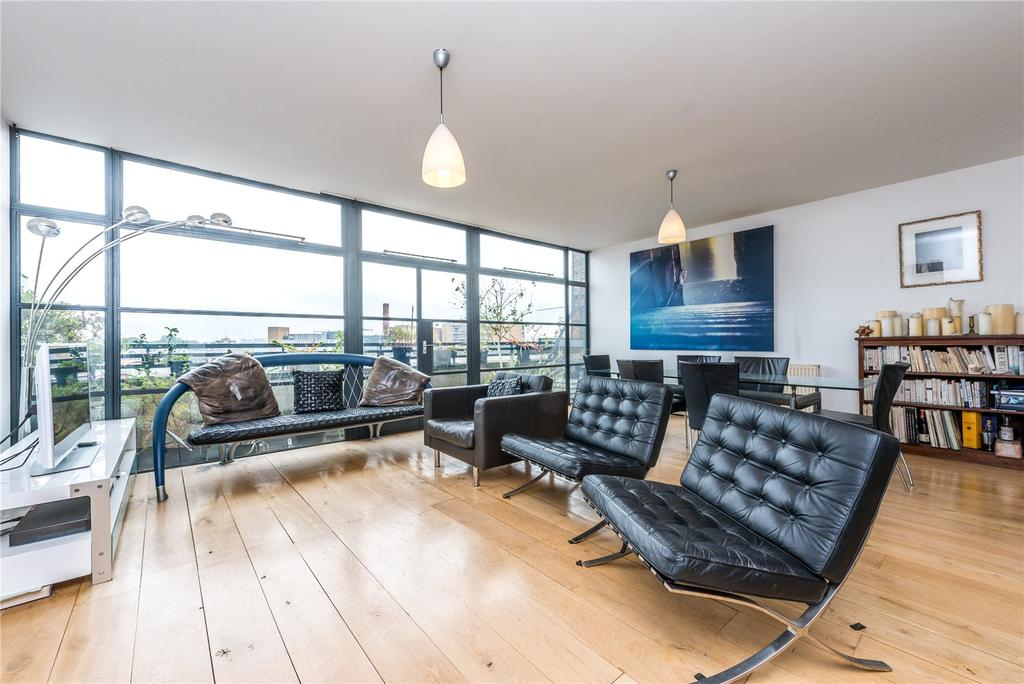 2 Bedrooms Penthouse Flat for sale in Exchange Building, 132 Commercial Street, Spitalfields, E1