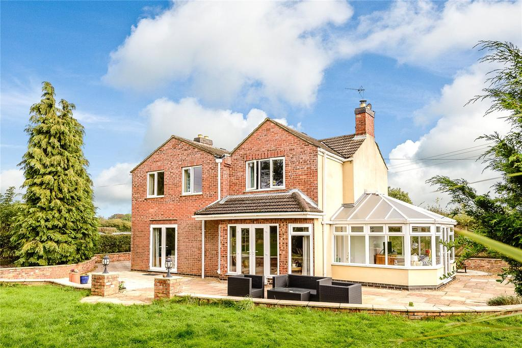 4 Bedrooms Detached House for sale in West View Farm, Brickyard Lane, Hundleby, Spilsby, PE23
