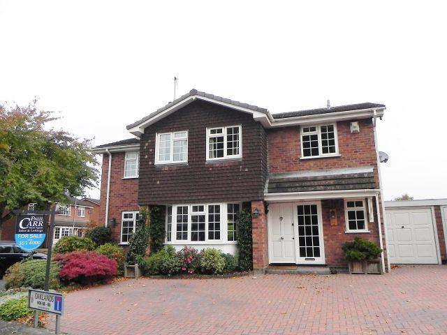 4 Bedrooms Detached House for sale in Oaklands,Curdworth,Sutton Coldfield
