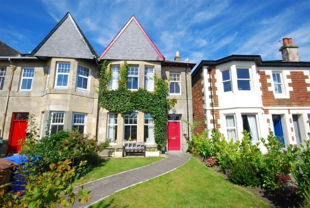 4 Bedrooms Semi-detached Villa House for sale in 27 Montgomerie Terrace, Ayr, KA7 1JL