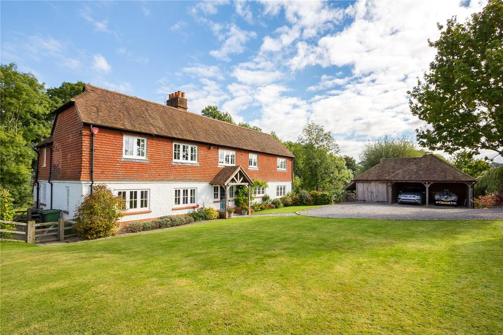 5 Bedrooms Detached House for sale in Isington Road, Isington, Hampshire