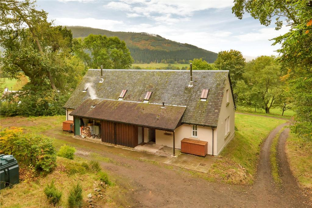 3 Bedrooms Semi Detached House for sale in Sealladh Gleann, Glen Lyon, Fortingall, Perthshire, PH15