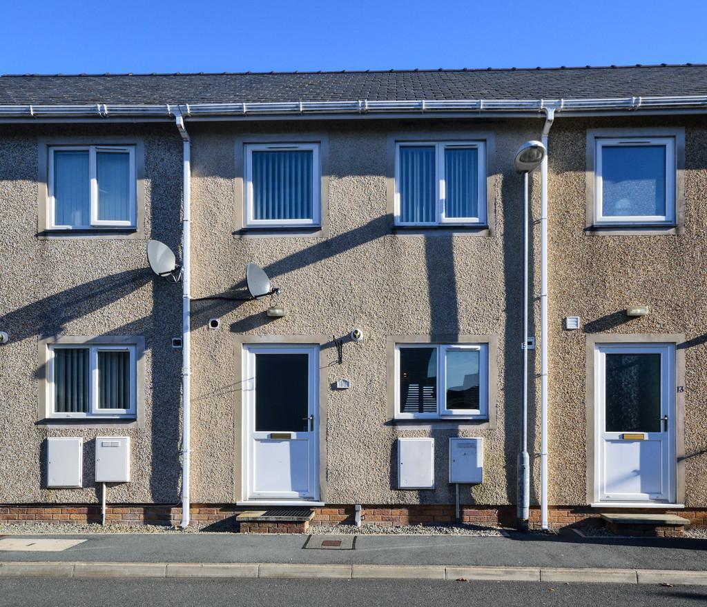 2 Bedrooms Terraced House for sale in Llys Y Meddyg, Bodedern, North Wales