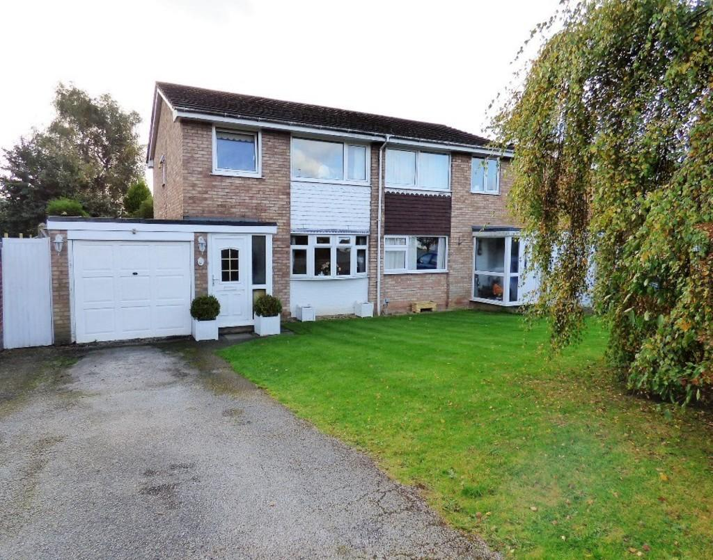 3 Bedrooms Semi Detached House for sale in Siddons Close, Lichfield