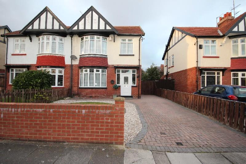 3 Bedrooms Semi Detached House for sale in Grantham Avenue, Hartlepool