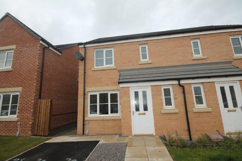 3 Bedrooms Semi Detached House for sale in Adams Court, Shildon