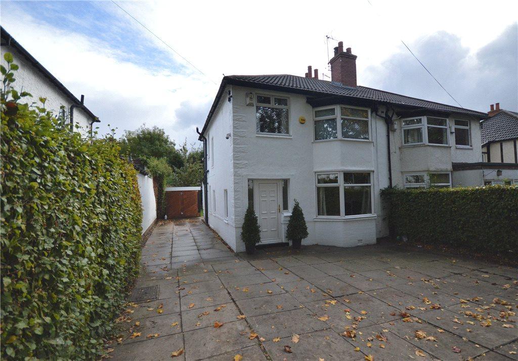 3 Bedrooms Semi Detached House for sale in Scott Hall Road, Moortown, Leeds